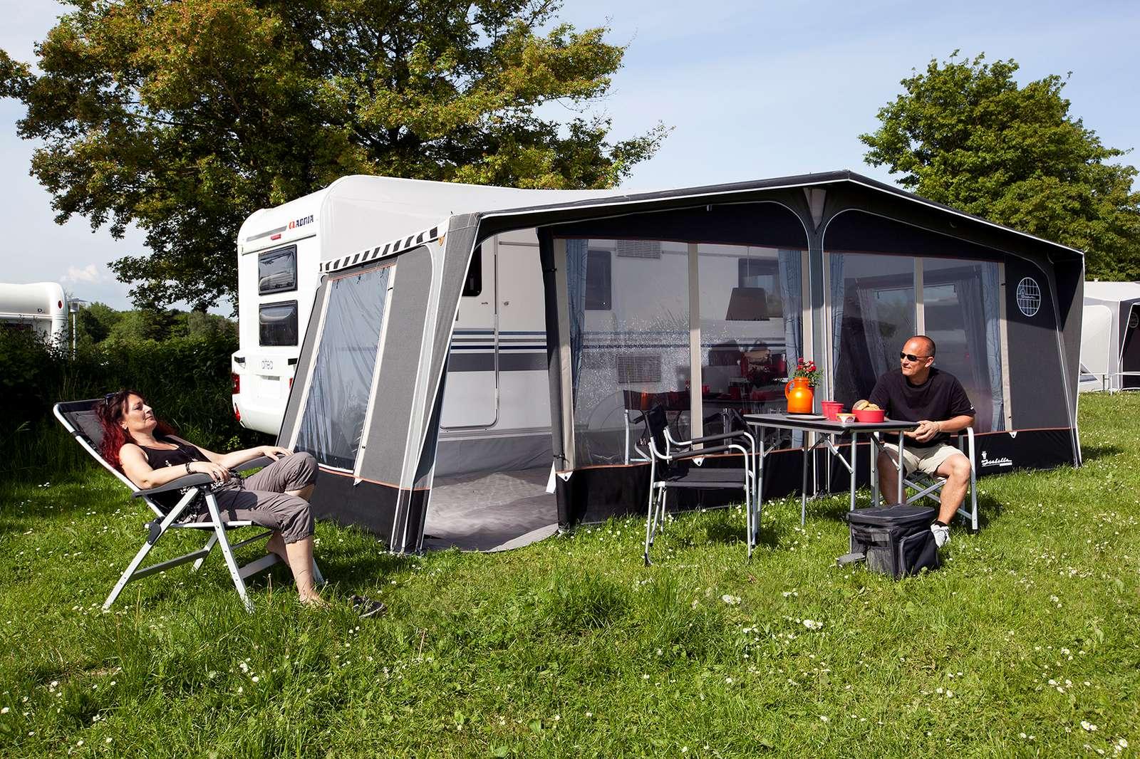 beschikbaar korting te koop spotgoedkoop Caravan voortenten en luifels - The Hap Caravans