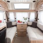 Engelse caravan bij kampeerwinkel the Hap in voorthuizen