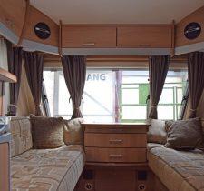 Avante 362 Engelse compacte caravan