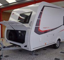 Starlett 395 CP Compacte lichte caravan.