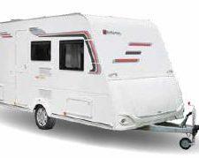 Easy 430 PE Stapelbed caravan