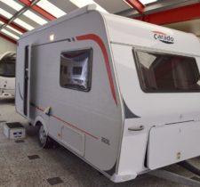 160 L Ruime sfeervolle caravan