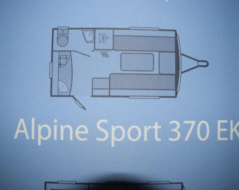 Sprite Alpine Sport 370 EK Compact en compleet