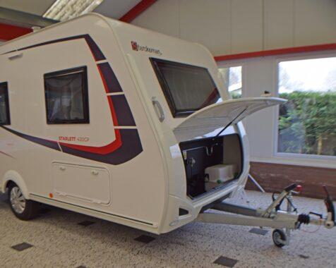 Sterckeman Starlett Comfort 420 CP licht gewicht caravan